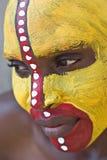 Fronte tribale fotografie stock libere da diritti
