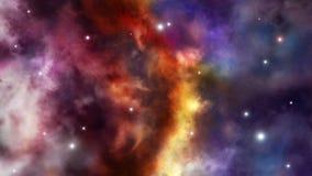Fronteira entre dois universos ilustração do vetor