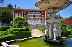 Fronteira slott i Lisbon, Portugal Royaltyfria Bilder