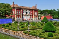 Fronteira slott i Lisbon, Portugal Arkivbild