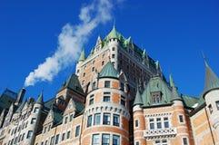 frontenac Квебек города замка Канады Стоковое Изображение RF