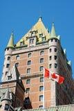 frontenac Квебек города замка Стоковая Фотография