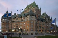 frontenac Квебек замка Стоковые Фото