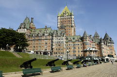 Frontenac castle Royalty Free Stock Images