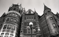 Frontenac castle Stock Images