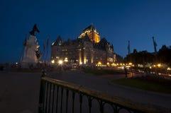 Frontenac Chateau - Quebec City - 02 Arkivbild