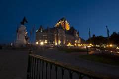 Frontenac Chateau - Quebec City - 02 Stock Photography