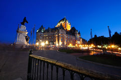Frontenac Chateau - Quebec City - 02a Royalty Free Stock Photos