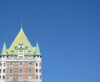 Frontenac del chateau Fotografie Stock Libere da Diritti