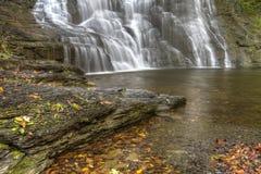 Frontenac Falls and Pool Royalty Free Stock Photography