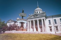 Frontenac-Gerichtsgebäude Kingston Ontario lizenzfreie stockbilder