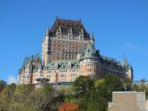 frontenac quebec för Kanada chateaustad royaltyfri bild