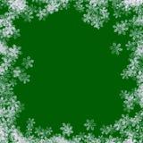 Frontera 01 de la nieve Imágenes de archivo libres de regalías