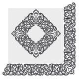 Frontera abstracta del vector Fotografía de archivo libre de regalías