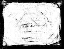 Frontera aplicada con brocha Fotografía de archivo libre de regalías
