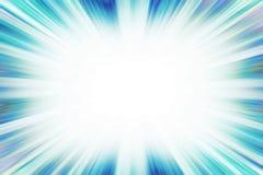 Frontera azul de la explosión del starburst Imágenes de archivo libres de regalías