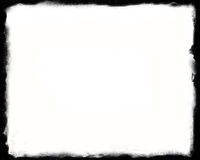 frontera blanco y negro única 8x10 Foto de archivo
