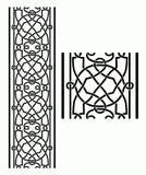 Frontera céltica stock de ilustración