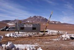 Frontera chilena boliviana Imagen de archivo
