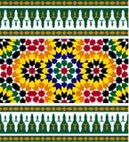 Frontera cinco de Zagora Marruecos ilustración del vector