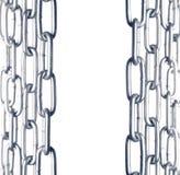 Frontera de cadena Imagen de archivo libre de regalías