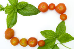 Frontera de cocinar italiana Imagenes de archivo