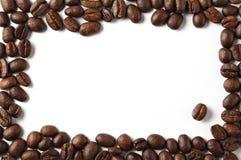 Frontera de Coffeebean Foto de archivo