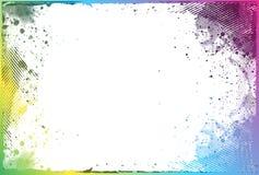 Frontera de Grunge Imagen de archivo libre de regalías