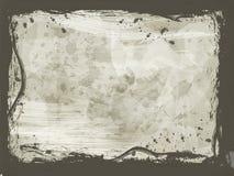 Frontera de Grunge Imagenes de archivo