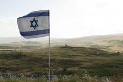 Frontera de Israel-Jordania Foto de archivo