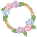 Frontera de la cuerda de las flores libre illustration