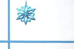 Frontera de la estrella de la Navidad Fotos de archivo libres de regalías