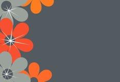 Frontera de la flor, fondo Fotos de archivo libres de regalías
