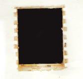 Frontera de la foto de Grunge Imagenes de archivo