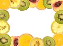 Frontera de la fruta fotos de archivo