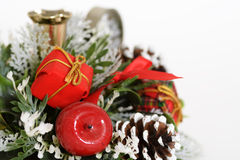 Frontera de la Navidad Fotos de archivo libres de regalías