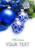 Frontera de la Navidad Foto de archivo libre de regalías