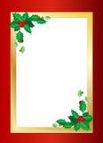Frontera de la Navidad Imagenes de archivo
