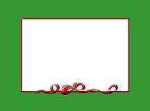 Frontera de la Navidad stock de ilustración