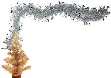 Frontera de la Navidad (o Año Nuevo) Imagen de archivo libre de regalías
