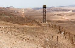 Frontera de la paz de Israel Egipto Fotografía de archivo libre de regalías