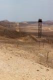 Frontera de la paz de Israel Egipto Fotografía de archivo