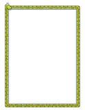 Frontera de la serpiente stock de ilustración