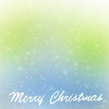 Frontera de la tarjeta de felicitación de la Feliz Navidad Fotos de archivo libres de regalías