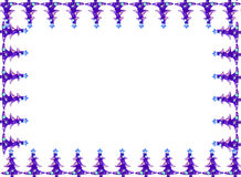 Frontera de la tarjeta de felicitación de la Navidad Imagen de archivo
