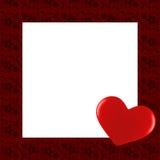 Frontera de la tarjeta del día de tarjeta del día de San Valentín Libre Illustration