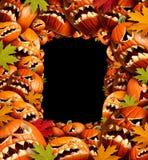 Frontera de la vertical de Halloween Imagen de archivo