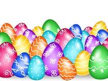 Frontera de los huevos de Pascua Fotos de archivo libres de regalías