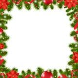 Frontera de Navidad Fotografía de archivo