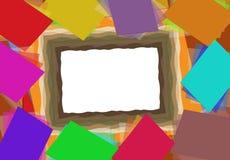 Frontera de papel Imagenes de archivo